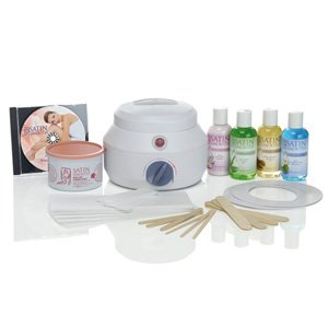 Satin Smooth SSW09C Professional Single Wax Warmer Kit, Deluxe Cream - Deluxe Personal Warmer