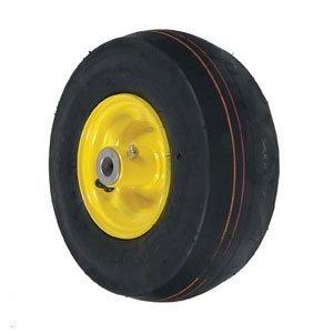 John Deere Riding Mower Caster Wheel Smooth 11X4X5 Yellow Part No: A-B1SB8551, AM101589, 175725, -