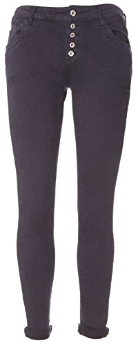 Claro de Mujer Gris Pantalón L Basic Para 4FTwUxv4q
