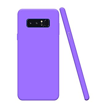 Funda Samsung Galaxy Note 8, Silingsan Funda Silicona Protectora Carcasa Candy Goma Cubierta Case Ultra Delgado Cover Protectora Anti Rasguños Case ...