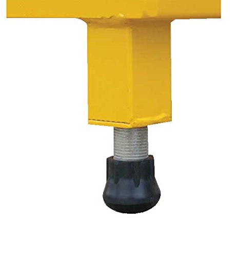 Adjustable Work Stand - Serrated Deck - BAHW Series; Deck Size (W x L): 19'' x 24''; Service Range: 9'' to 14''; Number of Legs: 4; Capacity (LBS): 500 by Beacon World Class Products (Image #2)