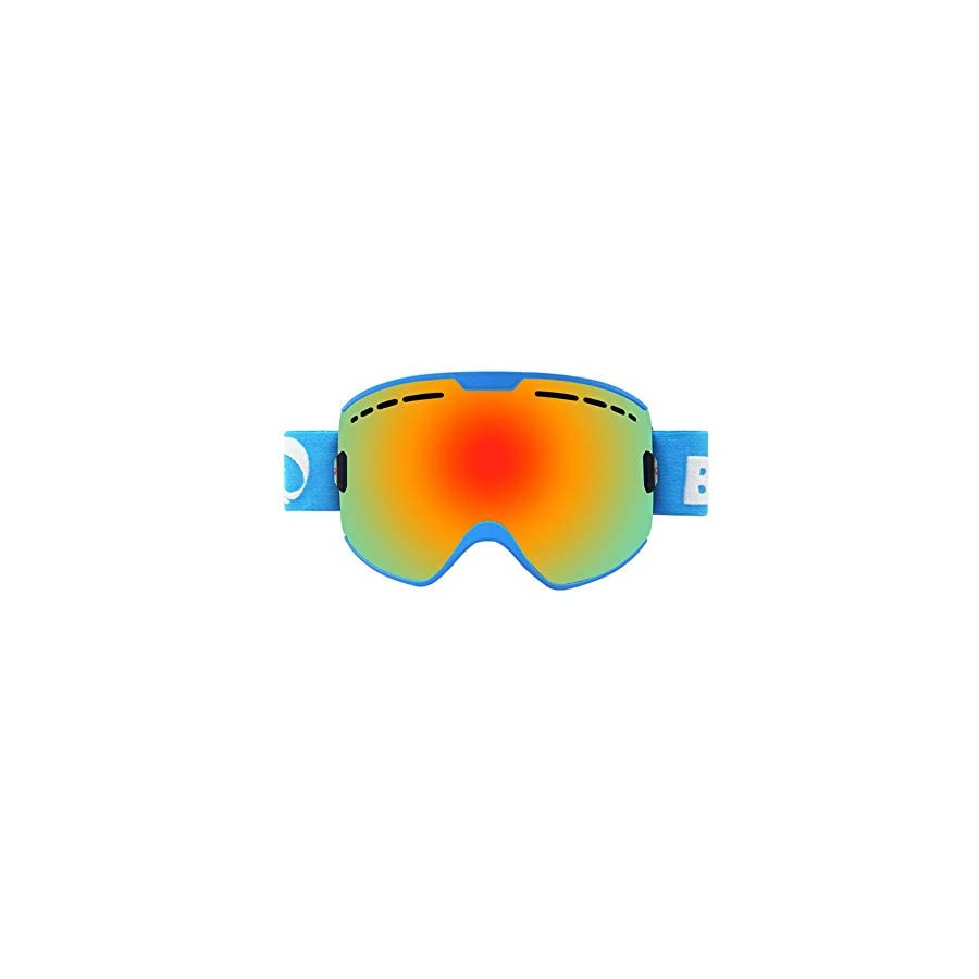 He yanjing Snow Goggles ,Skating Goggles ,Double Lens , Anti Fog UV Protection ,Single and Double Board ski Glasses for Men and Women Outdoor Windshield