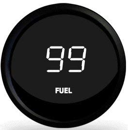 Set of 6 Digital Gauges From Intellitronix in White w/ water temp and oil pressure senders
