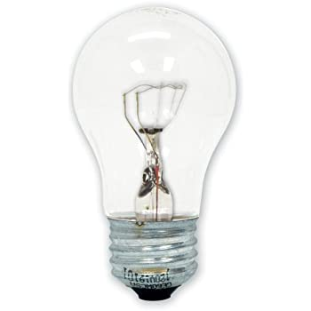 GE Lighting 15206 40-Watt Appliance Light A15 1CD Light Bulb  sc 1 st  Amazon.com & GE Lighting 15206 40-Watt Appliance Light A15 1CD Light Bulb ... azcodes.com
