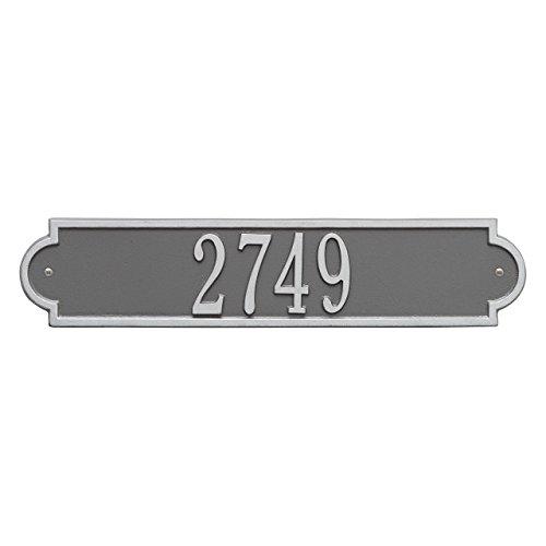 (Whitehall Custom Richmond Standard Wall Address Plaque 19