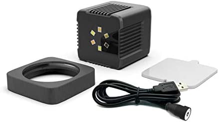 Sutefoto Mini Cube Led Luz de Bolsillo Video de Cámara Recargable a Prueba de Agua con Aplicación Magnética Compatible para Cámara de Acción DSLR Drone Smartphone Submarino: Amazon.es: Electrónica