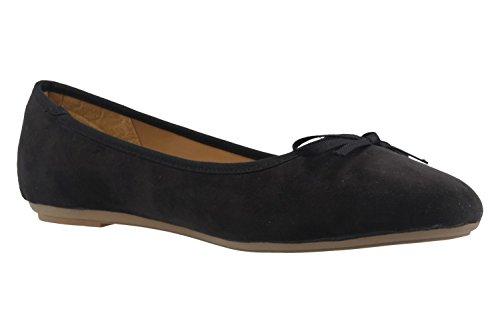 Fitters Footwear, Ballerine donna Nero nero