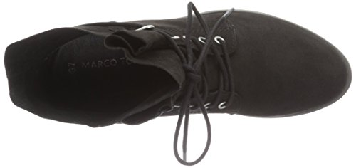 Marco Tozzi 25100, Botas Militar para Mujer Negro (Black 001)