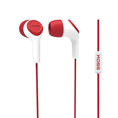 Koss KEB15i In-Ear Headphone, Red