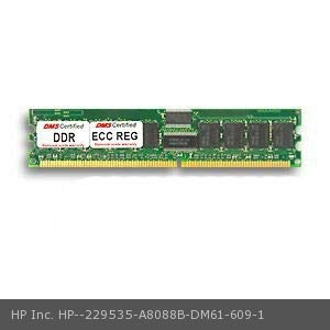 DMS Compatible/Replacement for HP Inc. A8088B Workstation c8000 1GB DMS Certified Memory DDR PC2100 266MHz ECC/Reg. 128x72 CL2.5 2.5v DIMM (64x4) 36 Chip - DMS