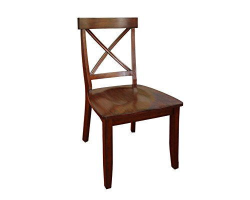 Home Styles Classic Dining Set of Cherry Finished x Back Design (Spindle Back Cherry)