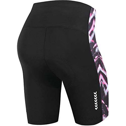 NOOYME Womens Bike Shorts for Cycling with 3D Padded Women Cycling Shorts