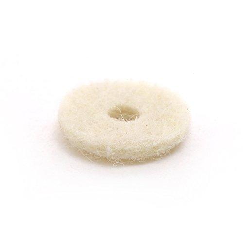 felt washers strap button - 3
