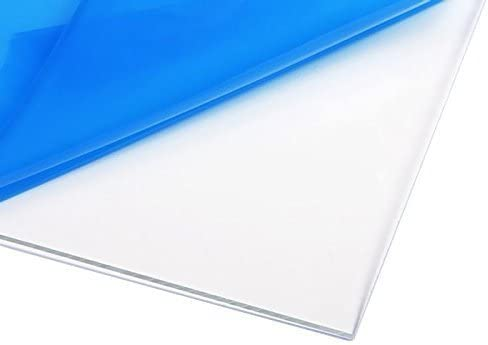 Amazon Com Source One Llc 1 Inch Thick Acrylic Plexiglass Sheet Multiple Sizes Available 12 X 12 Clear Office Products