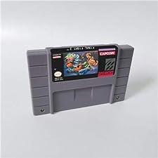 Game card - Game Cartridge 16 Bit SNES , Game Final Fight Series Games Final Fight 2 - Action Game Card US Version English Language