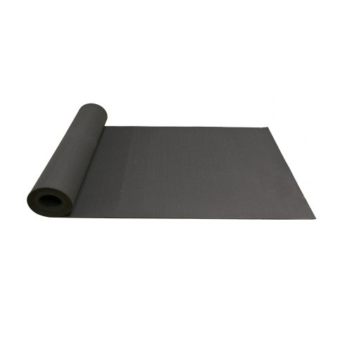 Rubber Cal Recycled Floor Mat, Black, 3/8-Inch x 4 x 8-Feet
