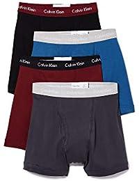 Underwear Men's Cotton Classics 4 Pack Boxer Briefs