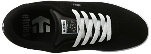 Top Scam Etnies Sneaker Schwarz Black Low Herren White The wRvfq4z