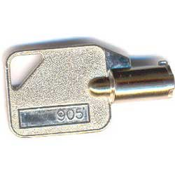 Time Clock Key - Acroprint ES700 / ES900 / ES1000 Time Clock Keys (Atomic models only) (Set of 2) 905 / 45-0180-000