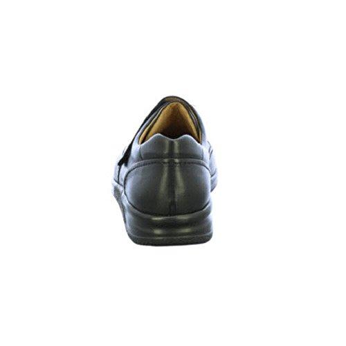 Ganter Sensitiv Kurt, Weite K, Pantofole A Casa da Uomo Nero