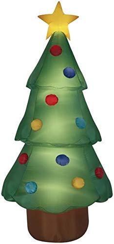 10' Airblown Christmas Tree Giant Christmas Inflatable]()