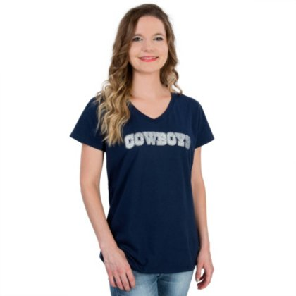 8e8d245e8 Image Unavailable. Image not available for. Color  Dallas Cowboys Womens  Bling Tee
