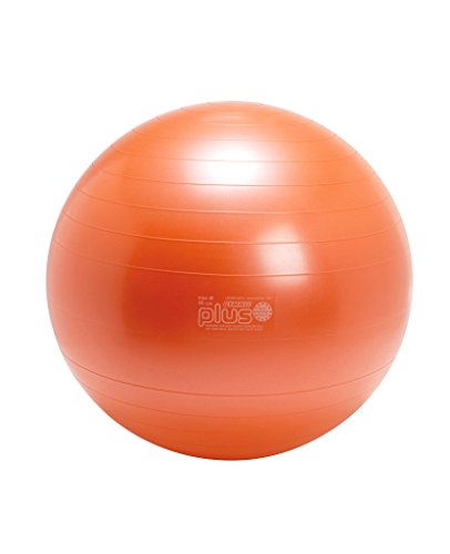 Gymnic Plus 65 Exercise Ball, Orange by Gymnic