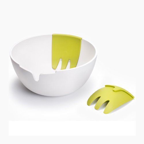 Joseph Joseph Salad Bowl - Joseph Joseph Hands On Salad Set, White