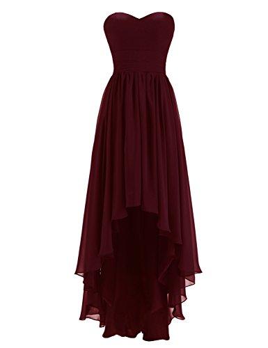 high low chiffon dress - 8