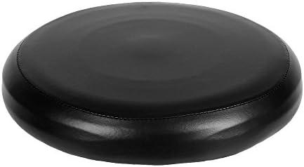 Decdeal cuoio elastica rotonda sgabello copertura sintetica bar