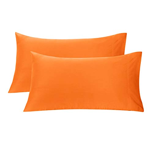 uxcell Soft 600TC Pillow Case 100% Long Staple Combed Cotton