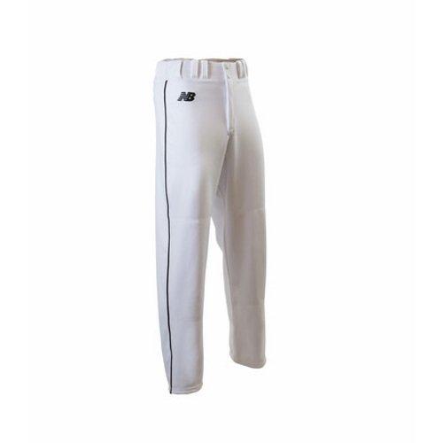 - New Balance 2000 Baseball Pant Piped White/Black - S