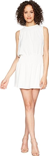 Bishop Style Dress - Bishop & Young Women's Smocked Dress White Small