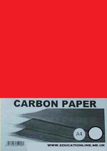 A4carta carbone, 100fogli, colore: Colore–rosso colore: Colore-rosso DALTON MANOR