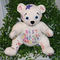 BEAREGARDS.COM Personalized Recordable Autograph Bear with 10 Second Recorder