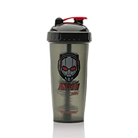 PerfectShaker Performa – Marvel Series, Leak Free Protein Shaker Bottle with Actionrod Mixing Technology! Shatter Resistant & Dishwasher Safe (28oz)