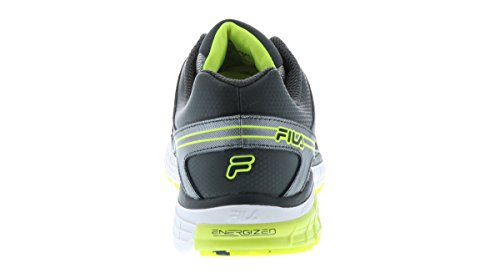 Yellow Sneakers Fila Energized 2 Metallic Shadow Safety Leather Mesh Athletic Silver Steelstrike Mens Dark 1r1wqt0O