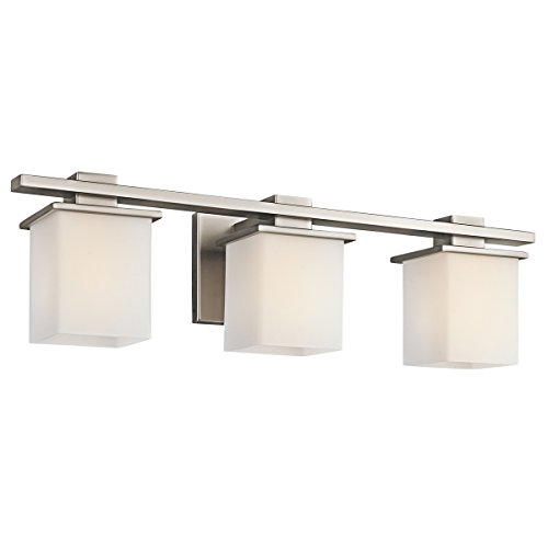 Pewter Antique Lighting (Kichler 45151AP Tully 3-Light Bath Wall Mount in Antique Pewter)