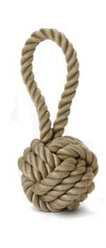 Multipet Nuts for Knots Heavy Duty Rope Dog Toy with Tug, Large by Multi Pet