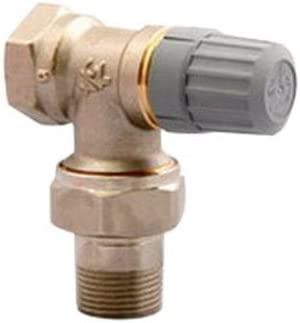 OHTOP Automatic Thermostatic Radiator Valve Floor Heating Temperature Control Thermostat Valve Copper DN15 DN20