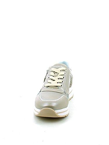 Nero Giardini Sneaker in Pelle Perlata Savana con Brillantini N. 36