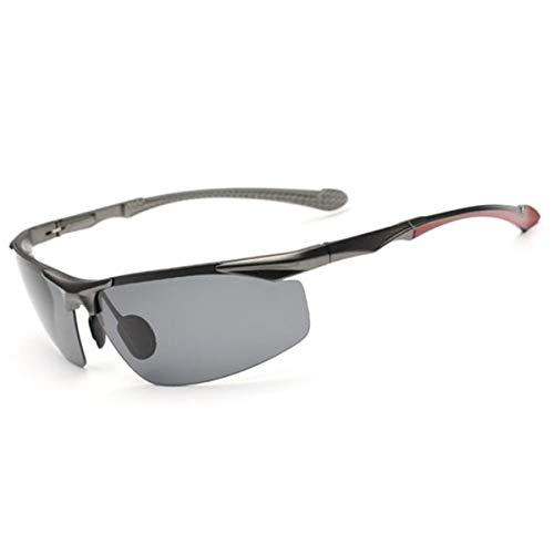 C de Gafas de Sol D de Hombres Magnesio Gafas Viaje de de Aluminio Sol de los Espejo de polarizadas Sol de Lentes KOMNY Bfgwxqq