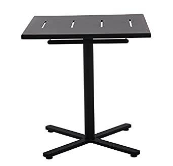 Plantation Prestige Commercial Furniture 2192727 0150 Folding Table, Steel  Material Type, 27u0026quot;