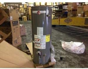 Rheem Prog50 36n Rh60 Mh Dvx 50 Gallon Residential Natural Gas Water Heater 120 Volt Amazon Com