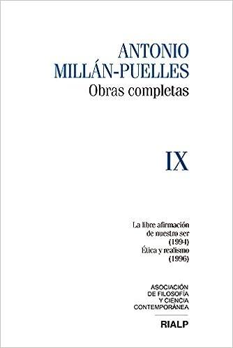 Millán-Puelles IX. Obras Completas Obras Completas de Antonio Millán-Puelles: Amazon.es: Antonio Millan-Puelles: Libros