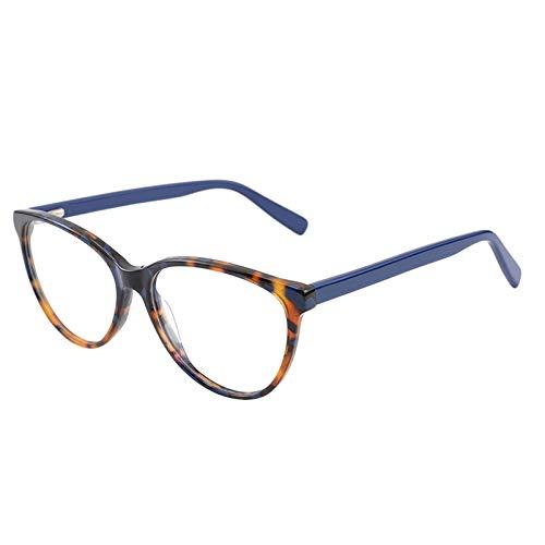 KathShop Cat Eye Women Myopia Glasses Optical Frames Fashion Spectacle Frame Acetate Frame Glasses Prescription Eyeglasses for Women