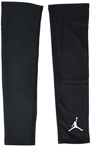 NIKE Jordan Basketball Arm Shooter Sleeve (Black/White, S/M) (Shooting Sleeve Jordan)