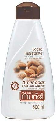 Hidratante Corporal Amor Amendoas 500ml, Muriel