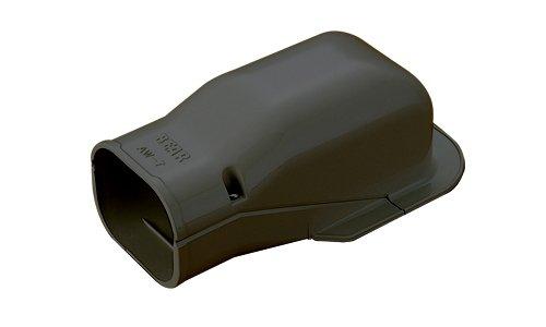 ウォールコーナー 壁面取り出し用 6型 ブラック 《スマートダクト ADシリーズ》 AW-6-B