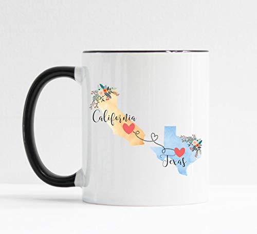 California Texas Mug Texas California ()